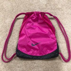 NEW Nike heavy duty drawstring gym travel bag